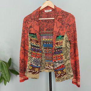 Aldomartins Knit Multicoloured Blazer - Unlined, C